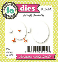 EGG Chick Set American Made Steel Dies by Impression Obsession DIE041-A New