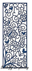 ELEGANT LACE BUTTERFLY PANEL DIE Craft Cutting Die Tattered Lace Die D301 New
