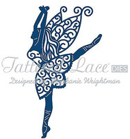 ELEGANT LACE GRACE FAIRY DIE Craft Die Cutting Die Tattered Lace Dies D607 New