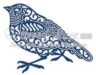 Elegant Lace ROBIN Bird DIE Craft Die Cutting Die Tattered Lace Dies D551 New