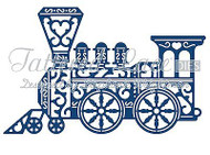 ELEGANT LACE TRAIN ENGINE DIE Craft Die Cutting Die Tattered Lace Dies D693 New