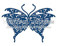 ELEGANT ORIENTAL BUTTERFLY DIE Craft Die Cutting Die Tattered Lace Die D145 New