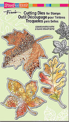 Fall Leaves Dies Craft Die Cutiing Die Set Stampendous DCS5068 NEW