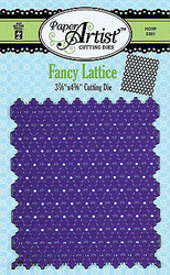 Fancy Lattice Die Craft Cutting Die Hot Off The Press Die HOTP 5301 New