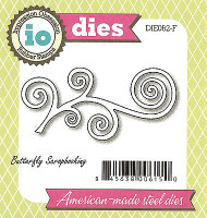 Flourish American made Steel Dies by Impression Obsession DIE062-F New