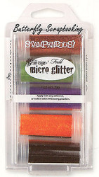 Frantage MICRO GLITTER Halloween Collection Kit 5 Glitters Stampendous MGK01 NEW