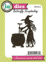 Halloween Witch American Made Steel Die by Impression Obsession DIE230-M New