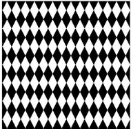 Harlequin Cover A Card Background Unmounted Rubber Stamp Impression Obsession Ne