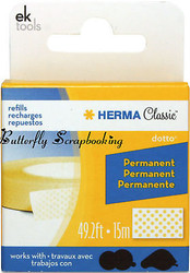 HERMA Dotto REFILL SCRAPBOOK ADHESIVE Permanent NEW