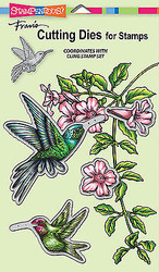Hummingbirds Dies Craft Die Cutiing Die Set Stampendous DCS5072 NEW