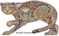 JAGUAR Animal Spirit Cling Unmounted Rubber Stamp EARTH ART Sue Coccia New