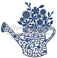 Lace Floral Watering Can DIE Craft Die Cutting Die Tattered Lace Dies D544 New