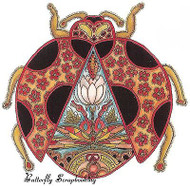 LADYBUG Animal Spirit Cling Unmounted Rubber Stamp EARTH ART Sue Coccia New
