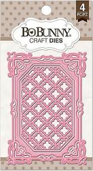 Lattice Frame Dies Craft Die Cutting Dies BoBunny Crafts Die 12839756 New