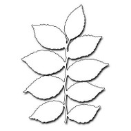 Lively Leaves, Steel Cutting Dies PENNY BLACK - NEW, 51-120