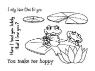 Love Frogs Clear Unmounted Stamps Set Impression Obsession Claudia Tenorio New