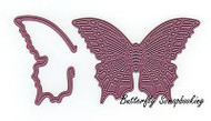 Majestic Butterfly & Wing Steel Die Cutting Dies CHEERY LYNN DESIGNS B534 New
