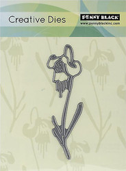 Modest Flower Creative Steel Die Cutting Die PENNY BLACK 51-037 NEW