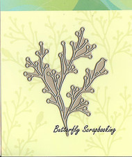 Nature's Song Branch And Bird, Creative Steel Dies PENNY BLACK - NEW, 51-014