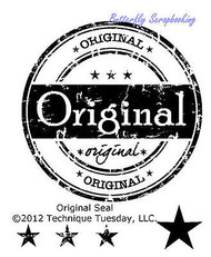 ORIGINAL SEAL Small Stamp Set Clear Unmounted Rubber Stamp TECHNIQUE TUESDAY New