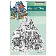 Potter's Shed, Cling Style Unmounted Rubber Stamp PENNY BLACK - NEW, 40-291