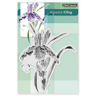 Pure Iris, Cling Style Unmounted Rubber Stamp PENNY BLACK - NEW, 40-332