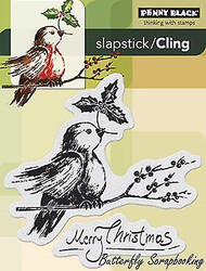 Robin's Wish, Cling Style Unmounted Rubber Stamp PENNY BLACK - NEW, 40-259