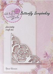 Rose Corner Die Creative Steel Die Cutting Dies WILD ROSE STUDIO SD010 New