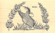 Scent Of Lilac HOUSE MOUSE Wood Mounted Rubber Stamp STAMPENDOUS, NEW - HMM09