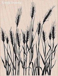 Silhouette Grass, Wood Mounted Rubber Stamp HERO ARTS - NEW, S5316