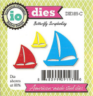 Small Sailboats American made Steel Dies by Impression Obsession DIE189-C New