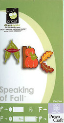 SPEAKING OF FALL CRICUT CARTRIDGE Die Cutting NEW