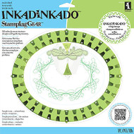 Stamping Gear Oval Wheel by Inkadinkado New