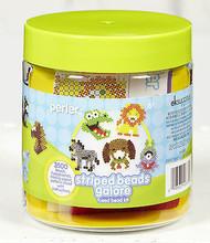Striped Beads Galore Fused Bead Kit EK SUCCESS Kids Craft Beads NEW 80-42883