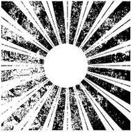 Sunburst Cover A Card Background Unmounted Rubber Stamp Impression Obsession New