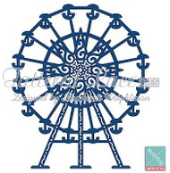 TATTERED LACE FARRIS WHEEL DIE Craft Die Cutting Die Tattered Lace Die D340 New