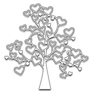Tree Of Love, Steel Cutting Dies PENNY BLACK - NEW, 51-100