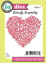 Valentine Lace Heart American Made Steel Die Impression Obsession DIE054-S New