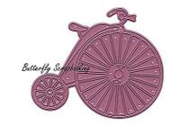 Vintage Bicycle Bike Die US made Steel Die by Cheery Lynn Designs DIE B356 New