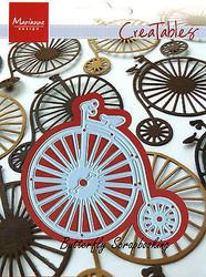 Vintage Bicycle Craft Steel Die by Marianne Design Creatables Die LR0262 New