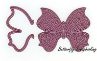 Whimsical Butterfly & Wing, Steel Cutting Dies CHEERY LYNN DESIGNS - NEW, B535