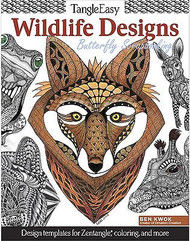 WILDLIFE DESIGNS Coloring Book For Markers, Colored Pencils Design Originals New