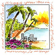 Windows To The World Cling Unmounted Rubber Stamp Art Impressions UMM3178 NEW