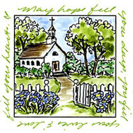 Windows To The World Cling Unmounted Rubber Stamp Art Impressions UMM3191 NEW