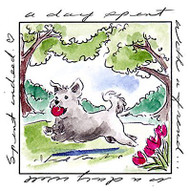 Windows To The World Cling Unmounted Rubber Stamp Art Impressions UMM4584 NEW