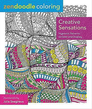 ZENDOODLE COLORING BOOK For Markers & Pencils Creative Sensations 60 Designs New