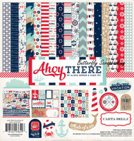 AHOY THERE Collection 12X12 Scrapbooking Kit Carta Bella Paper CB-AT29016 NEW