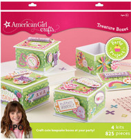 AMERICAN GIRL Party Treasure Boxes KIT EK Sucess New