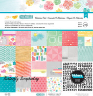 Amy Tangerine Yes Please Collection 12X12 Scrapbooking Kit American Crafts New