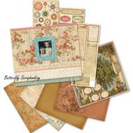ANCESTRY Heritage 8.5 x 8.5 Scrapbooking Album Kit Family Tree K&Company NEW